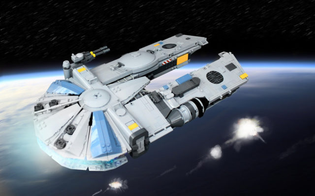 YT-1450 Light Freighter spaceship