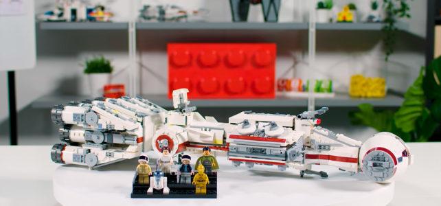 LEGO Star Wars 75244 Tantive IV video des designers
