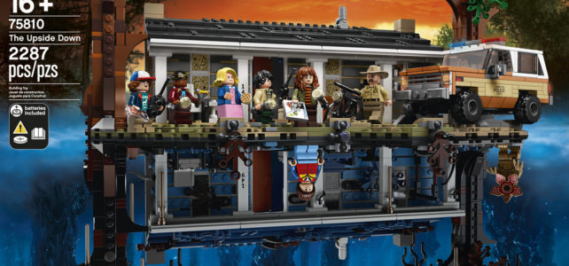 LEGO Stranger Things 75810 The Upside Down : l'annonce officielle