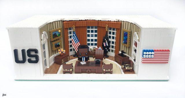 LEGO White House Barack Obama
