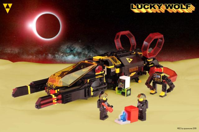 Lucky Wolf - LEGO Blacktron I