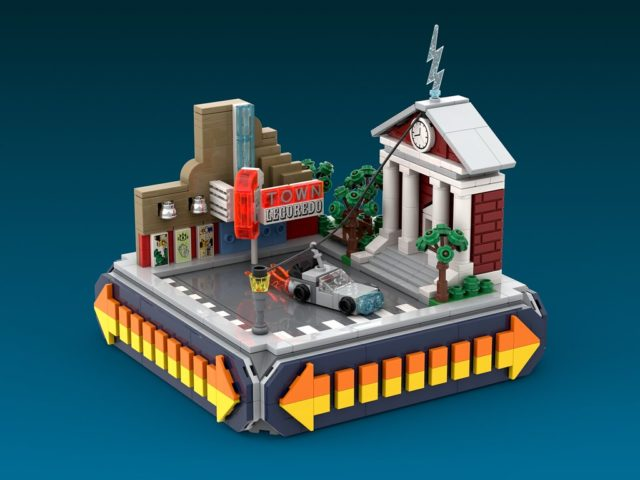 LEGO Microscale Retour vers le Futur