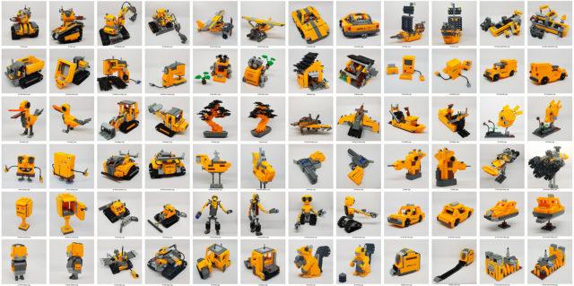 OSM LEGO 21303 Wall-E recap