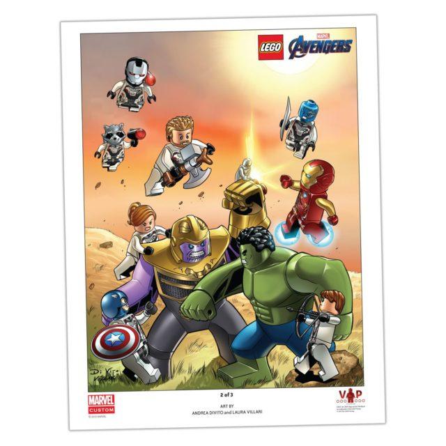 LEGO 5005881 Avengers VIP poster