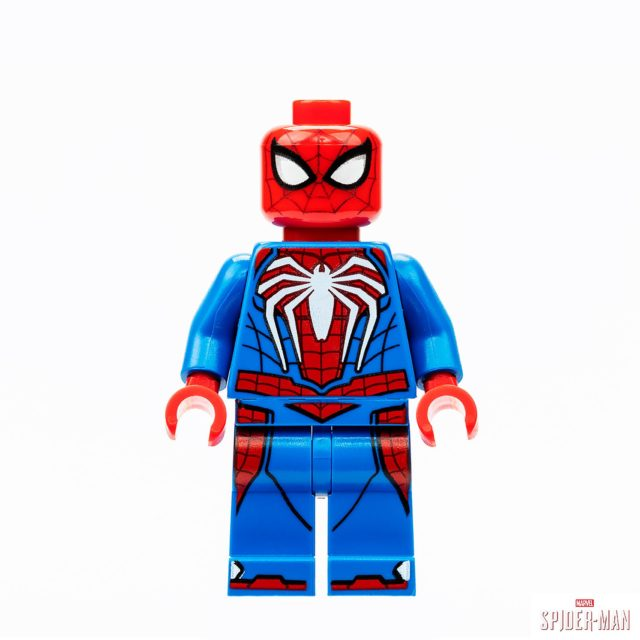 Figurine exclusive LEGO SDCC 2019 Spider-Man Advanced Suit (PS4)