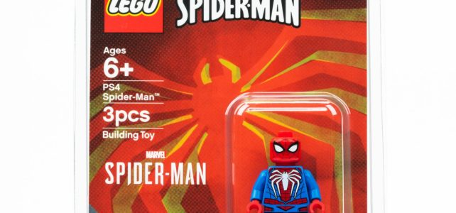 Figurine exclusive LEGO SDCC 2019 Spider-Man Advanced Suit (PS4)