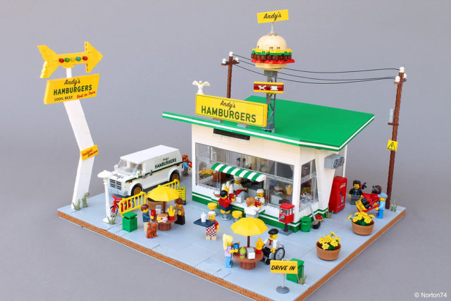 LEGO Andy's Hamburger Stand