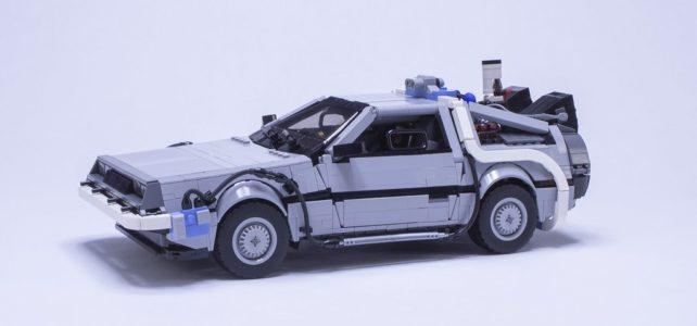 Retour vers le Futur 2 DeLorean
