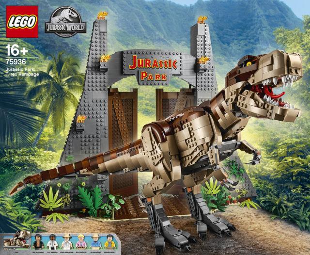 LEGO 75936 Jurassic Park T.Rex Rampage