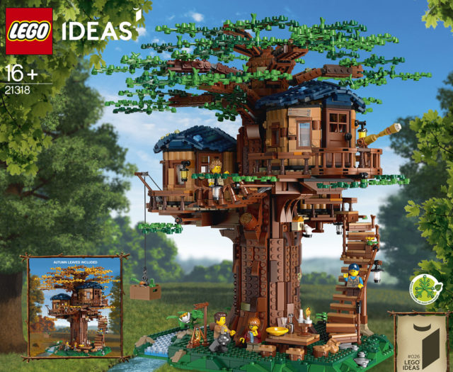 LEGO Ideas 21318 Tree House annonce