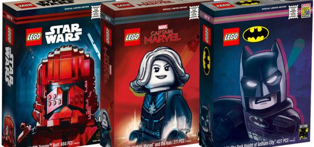 LEGO SDCC 2019