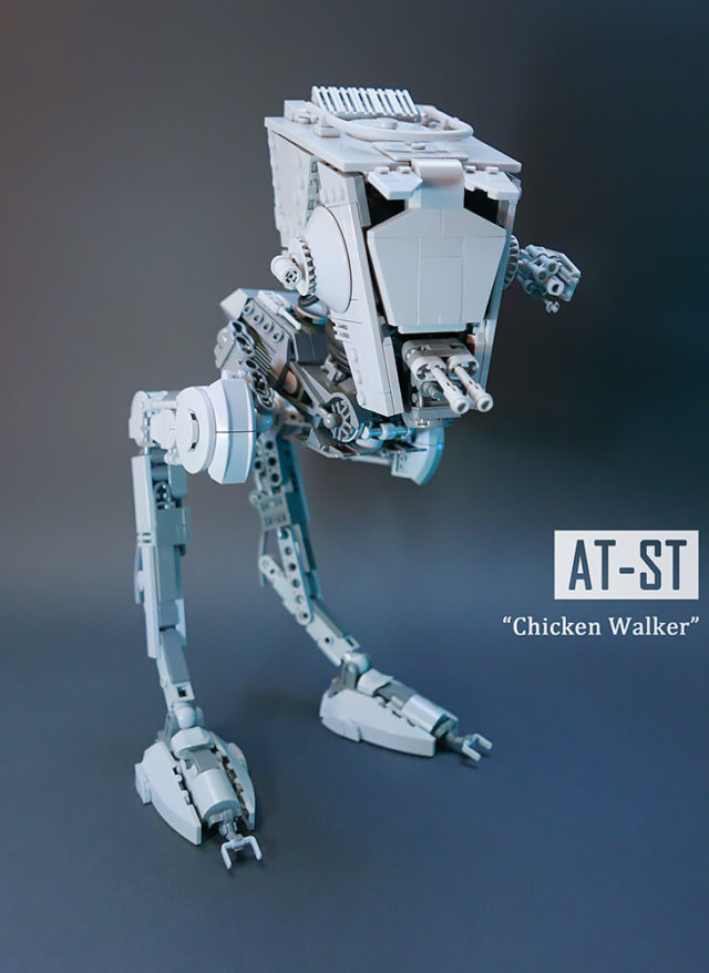 LEGO Star Wars UCS AT-ST MOC