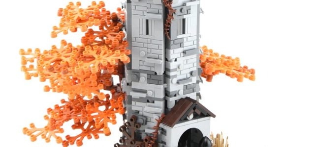 LEGO Wolfpack Watchtower