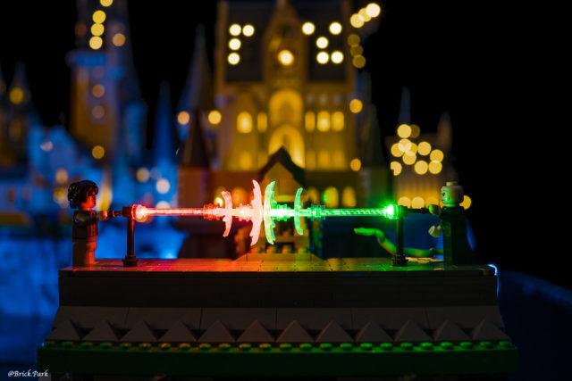 LEGO chateau Poudlard LED