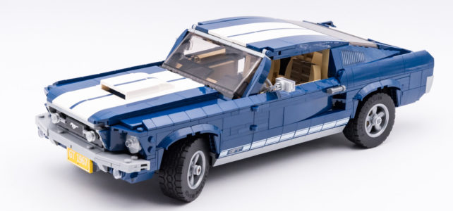 REVIEW LEGO 10265 Ford Mustang GT 1967 : vroum !