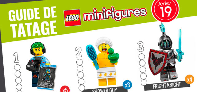 LEGO 71025 Collectible Minifigures Series 19 : le guide de tâtage