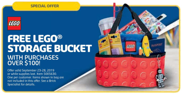 LEGO 5005630 Storage Bucket