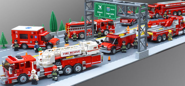 LEGO Fire Department Task Force 3