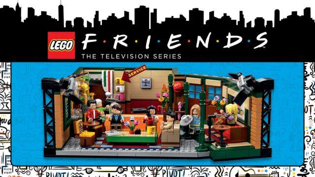 LEGO Ideas 21319 Central Perk dédicace
