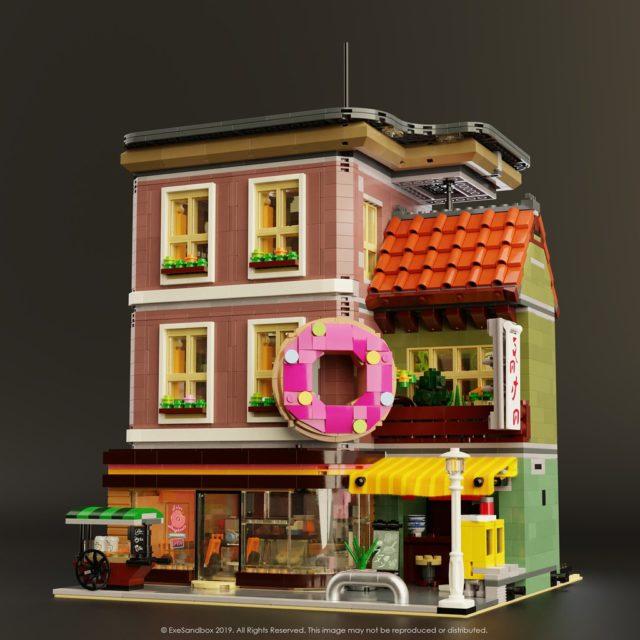 LEGO Modular Donut Shop