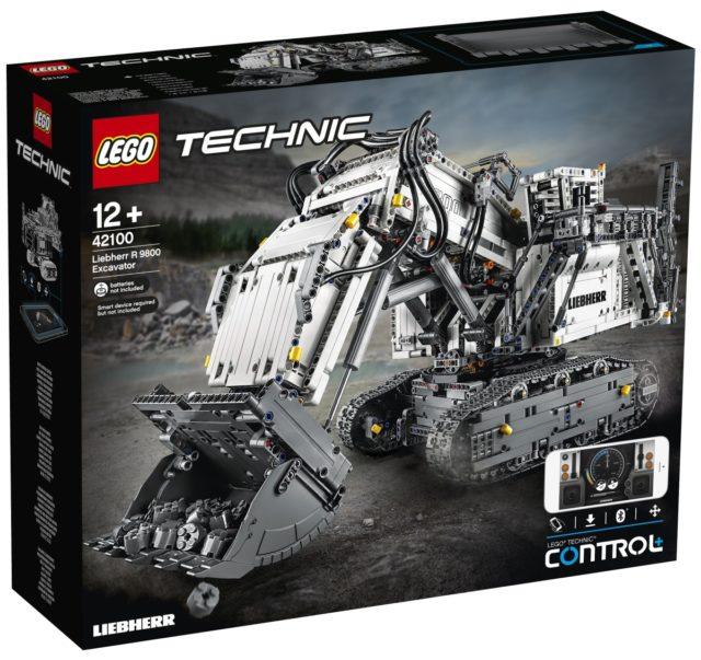 LEGO Technic 42100 Technic Liebherr R9800
