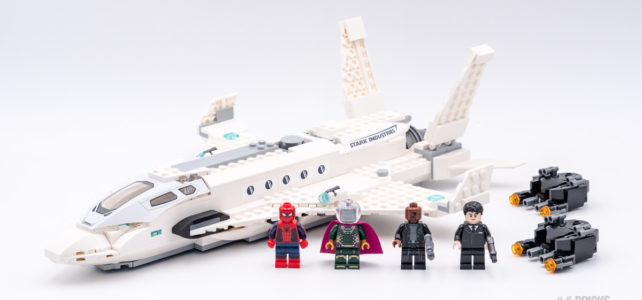 REVIEW LEGO 76130 Stark Jet and the Drone Attack