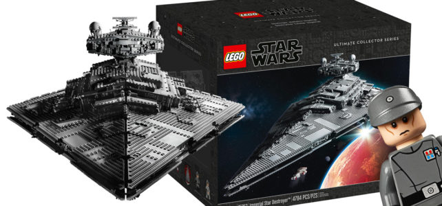 LEGO Star Wars 75252 Imperial Star Destroyer : l'annonce officielle