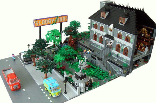 Diorama LEGO Scooby-Doo