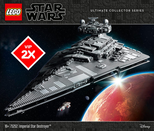 LEGO Star Wars 75252 Imperial Star Destroyer UCS VIP