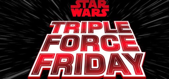 LEGO Star Wars Triple Force Friday logo