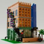 LEGO Modular Baseplate Alley