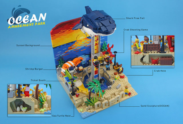 LEGO Ocean amusement park