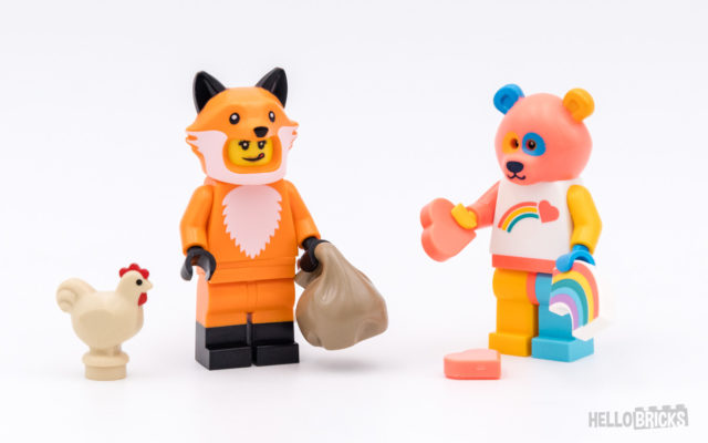 REVIEW LEGO 71025 Collectible Minifigures Series 19
