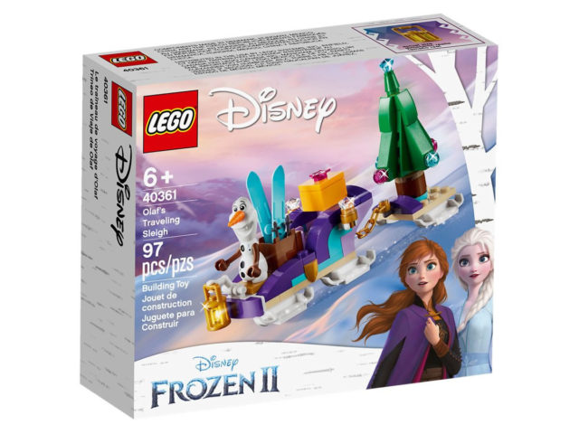 LEGO 40361 Olaf's Traveling Sleigh