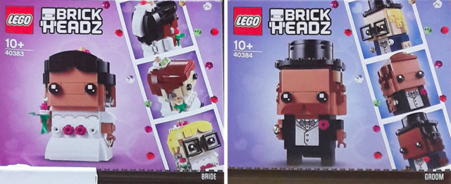 LEGO BrickHeadz 2020 Groom and Bride