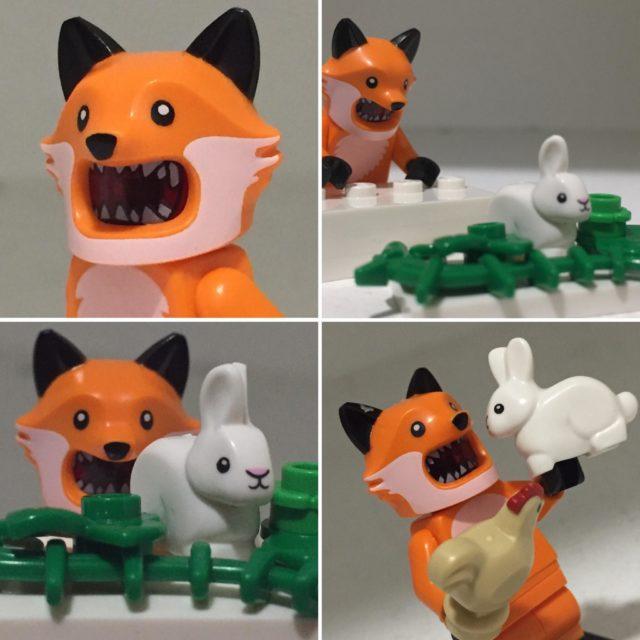 LEGO CMF Series 19 fox