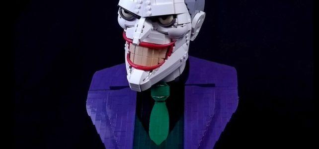 LEGO Joker Bust