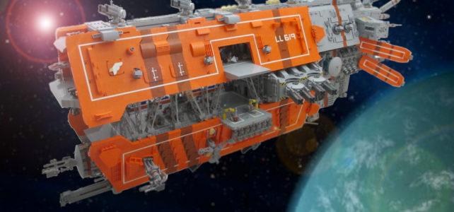 LEGO SHIPtember 2019 : ArkIV1 et Dominion1