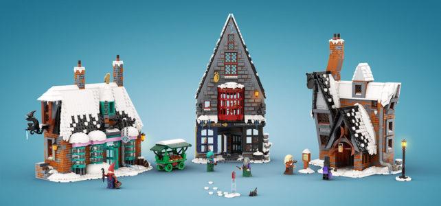 Challenge LEGO Ideas Harry Potter Pré-au-Lard