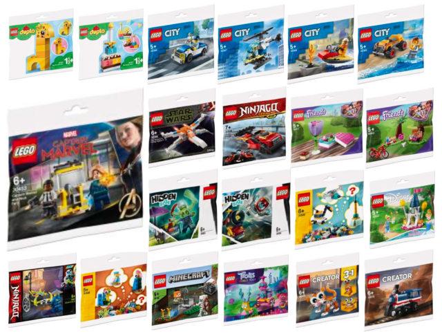 LEGO 2020 polybags