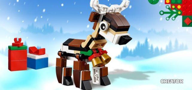 LEGO 40434 Renne Creator Noel