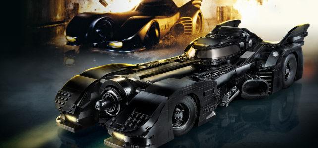 Nouveauté LEGO 76139 1989 Batmobile UCS : l'annonce officielle