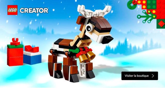 LEGO Creator 40434 Renne Noel 2019