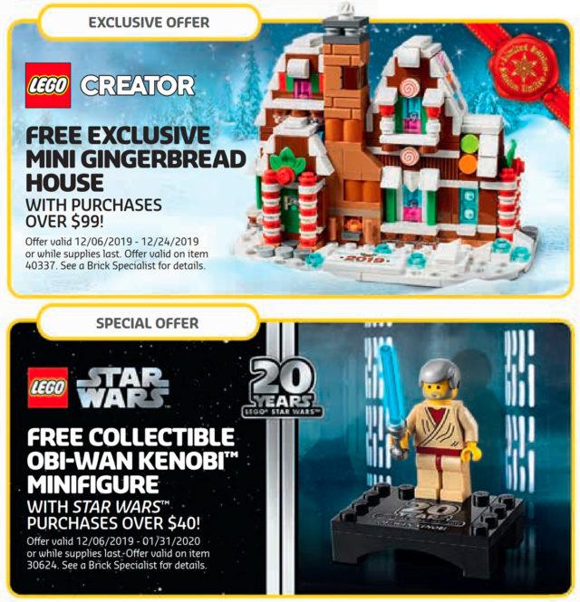 LEGO GWP 2019 Obi-Wan Gingerbread
