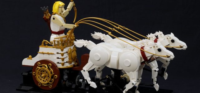 LEGO MOC cinetique JK Brickworks Apollon