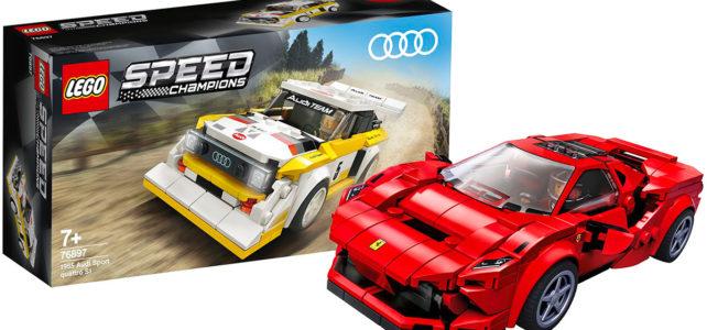 LEGO Speed Champions 2020 Ferrari Audi