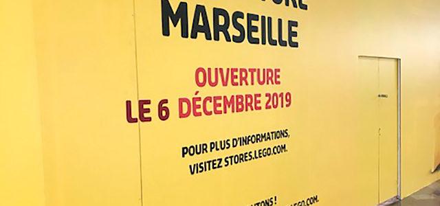 Le nouveau LEGO Store de Marseille ouvrira le 6 décembre