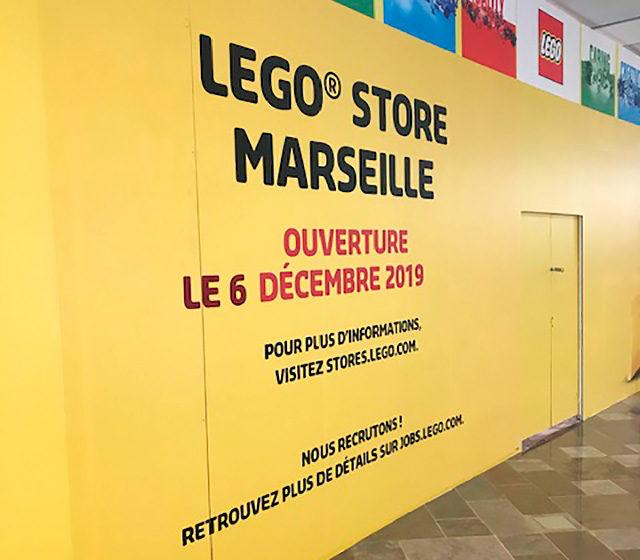 Nouveau LEGO Store Marseille