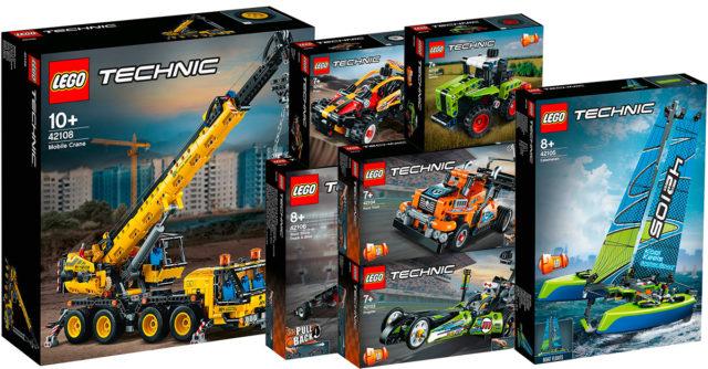 Nouveautés LEGO Technic 2020