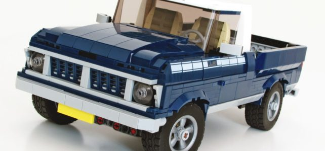 One Set MOC LEGO 10265 Ford Mustang : un Pick-up !